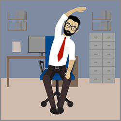 Quick exercises to try at your desk